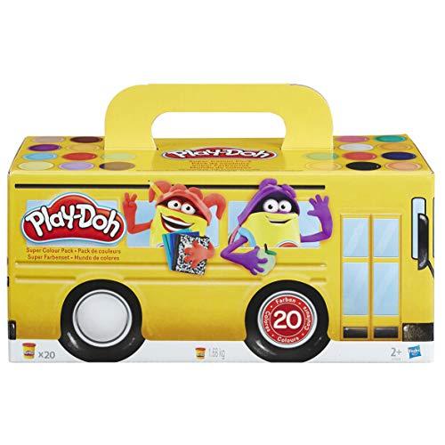 Hasbro Play-Doh Super Farben Pack (A7924) (20 Farben)