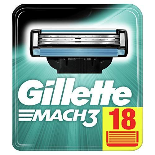 Gillette Mach3 Rasierklingen für Männer, 18 Stück