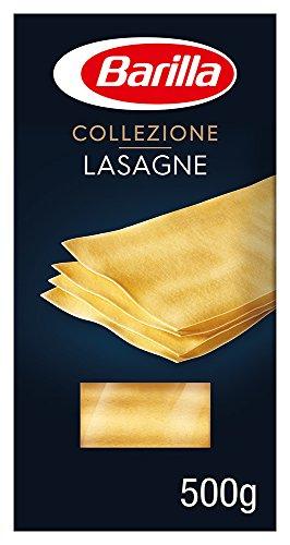 Barilla Hartweizen Pasta Collezione Lasagne – 15er Pack (15 x 500g)