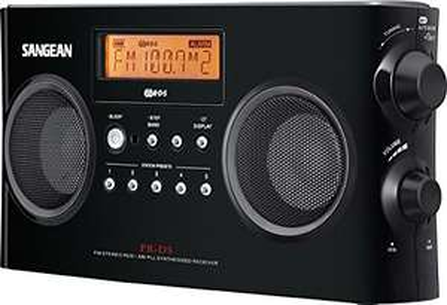 Sangean PR-D5 KW-Stereo RDBS / MW Tragbarer Digitalempfänger