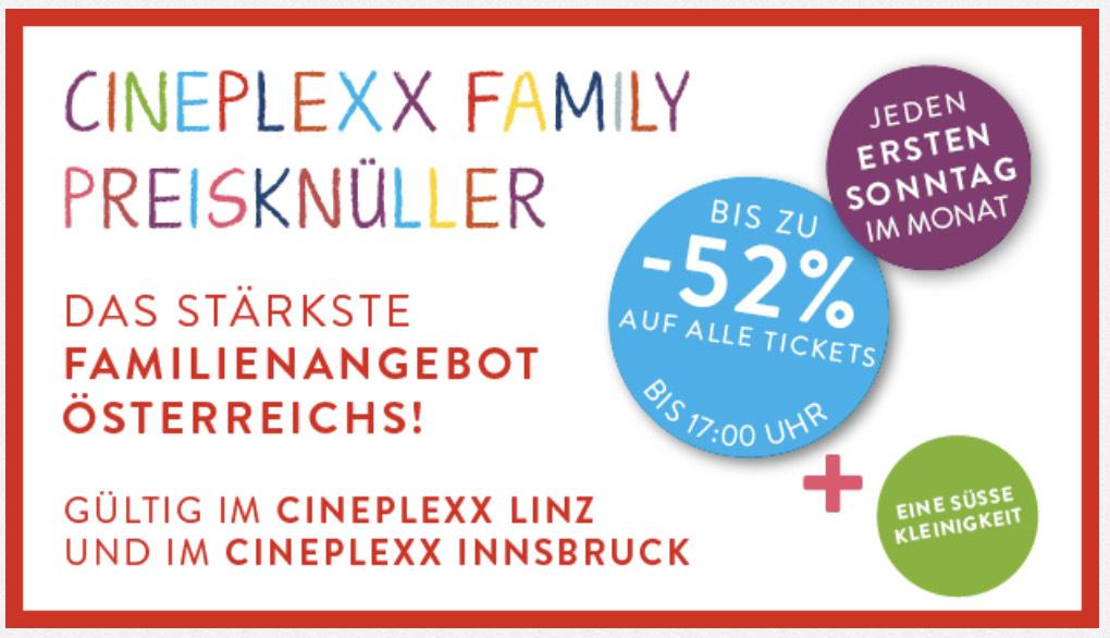 Cineplexx Linz & Innsbruck - Happy Familiy Day