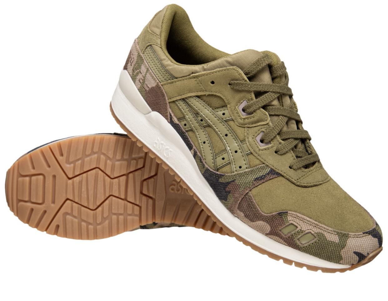 ASICS Tiger GEL-Lyte III Sneaker Oliv