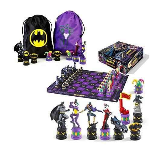 The Noble Collection Das Batman-Schachspiel (The Dark Knight vs The Joker)