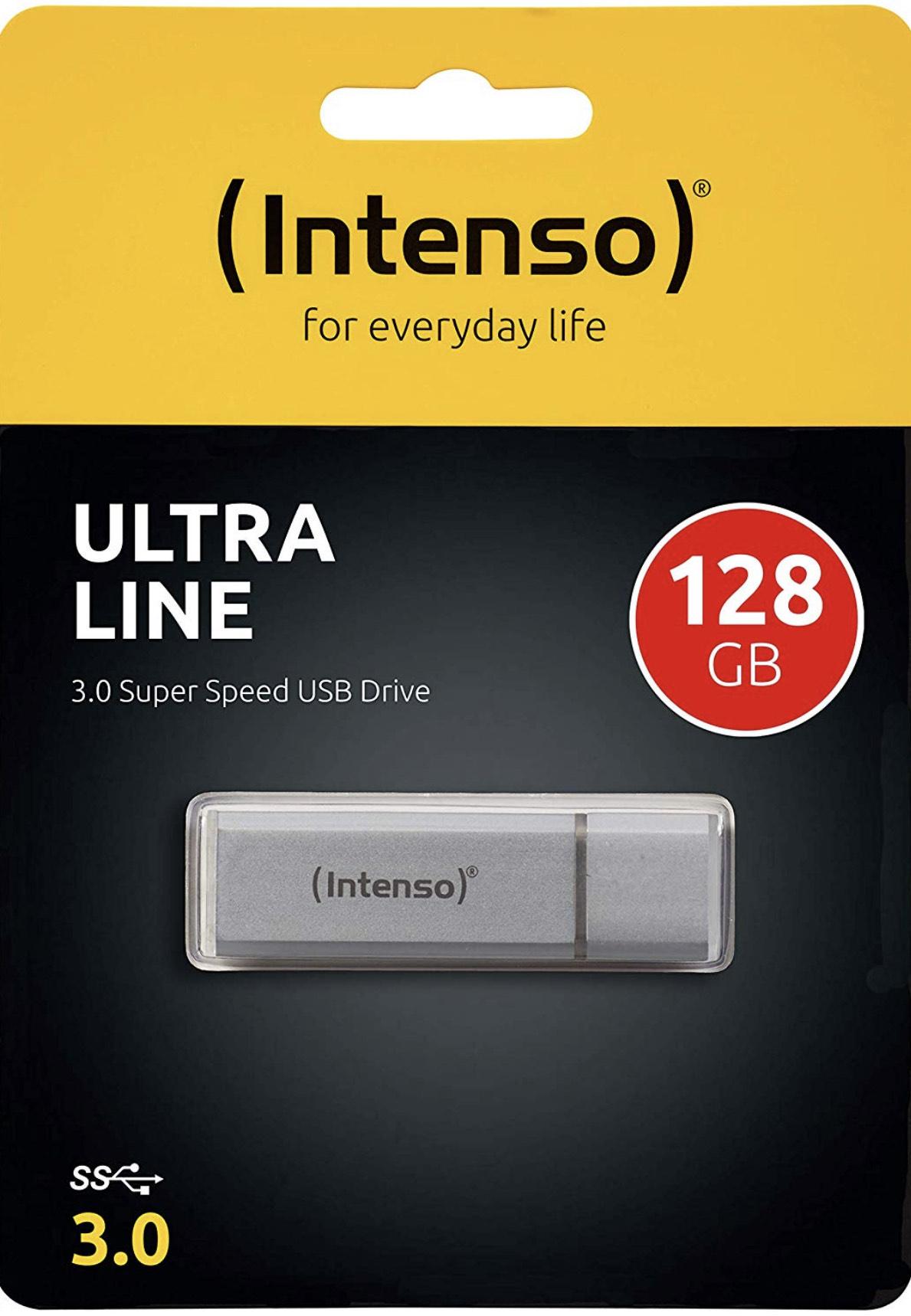 Intenso Ultra Line 128 GB USB-Stick USB 3.0 silber