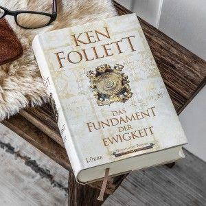 Das Fundament der Ewigkeit (Ken Follett, gebundene Ausgabe, Mängelexemplar)