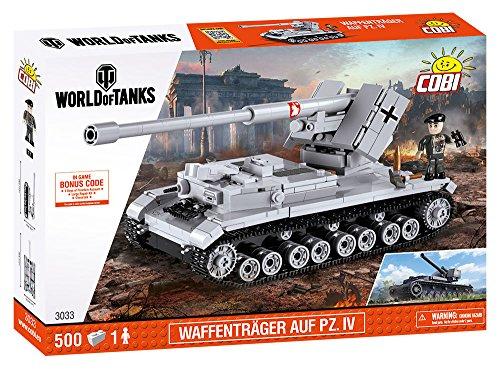 Cobi World of Tanks Waffenträger auf Pz.IV (3033)