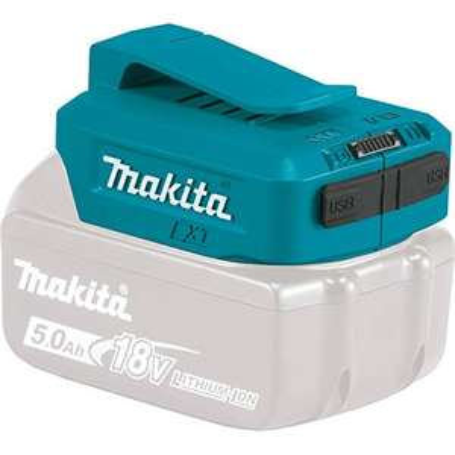 Makita ADP05 USB-Ladeadapter für Akkus (14,4V - 18V)