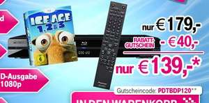 Blu-ray Player Pioneer BDP-120 + Ice Age Blu-ray Box für 139€