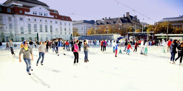 Gratis-Eislaufen im Wiener Eislaufverein - 25.10.2019