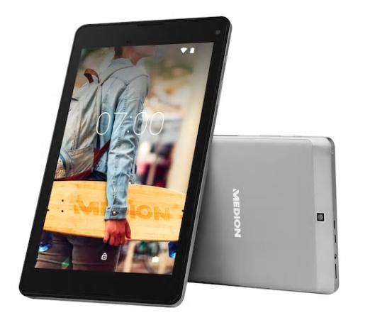 "MEDION LIFETAB P8524 Tablet 8"", Full HD, Android 7.0, 64 GB, 2 GB RAM, Metallgehäuse"