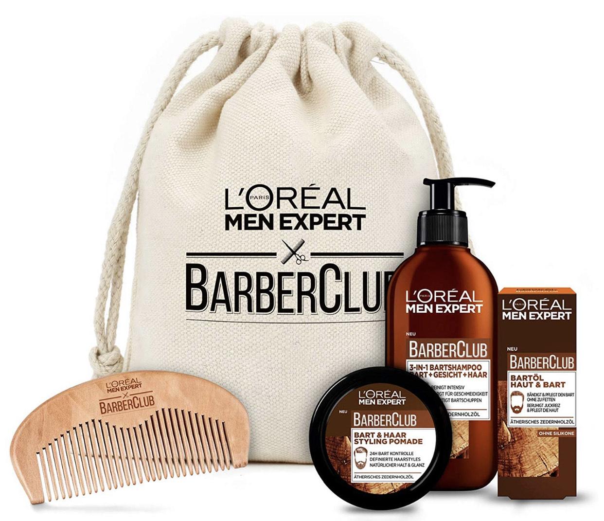 L'Oréal Men Expert Barber Club Premium Geschenkset