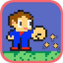 Punch Kidd für iOS (Alex Kidd Clone)
