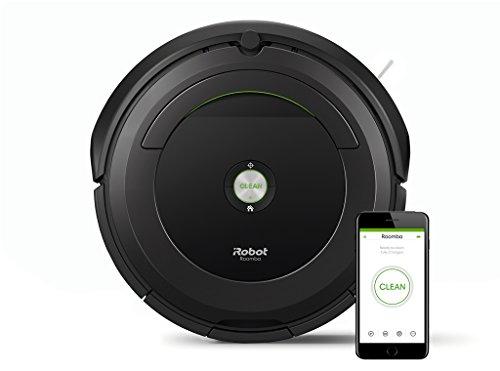 iRobot ROOMBA 696 Saugroboter mit WLAN und App Steuerung , schwarz