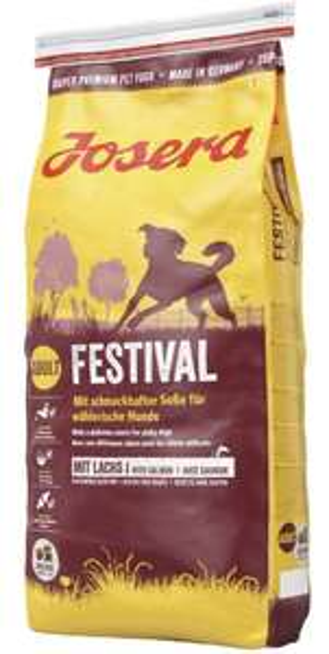 Josera Festival hochwertiges Hundfutter 4,5kg