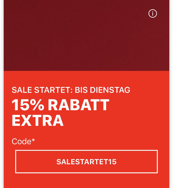 Zalando -15% auf Sale