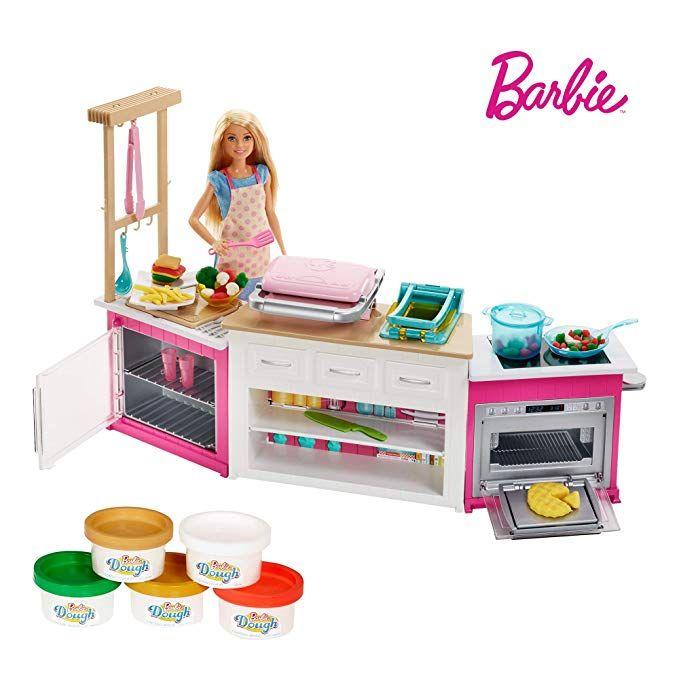 Barbie Deluxe Küchem-Spielset