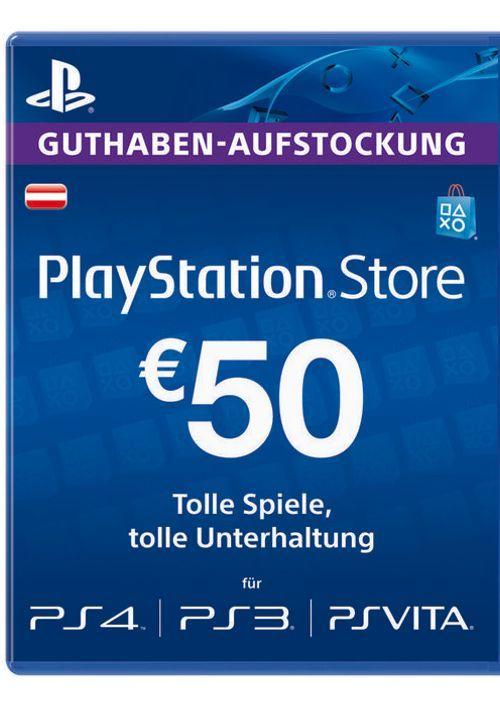 50 Euro PSN Guthaben