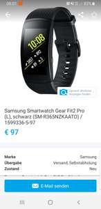 Samsung gear fit 2 pro Saturn Columbusplatz
