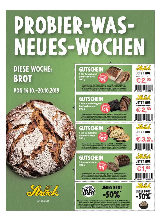 (Ströck Brot) Rabatt-Gutscheine
