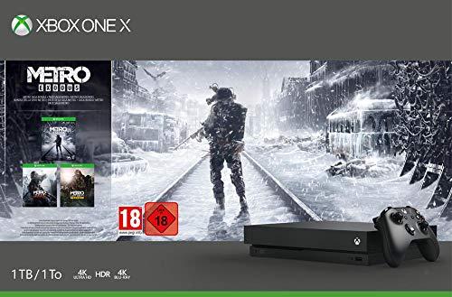 Microsoft Xbox One X Metro Exodus Bundle für 282,28 Euro