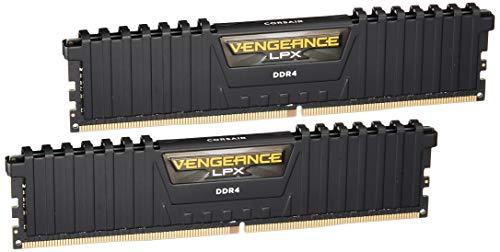 Corsair Vengeance LPX 16GB (2x8GB) DDR4 3200MHz C16 XMP 2.0 High Performance Desktop Arbeitsspeicher Kit, schwarz