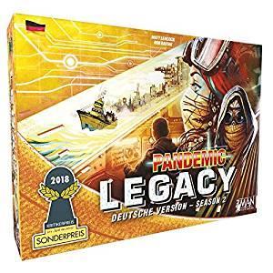 Pandemic Legacy Season 2 Gelb oder Schwarz
