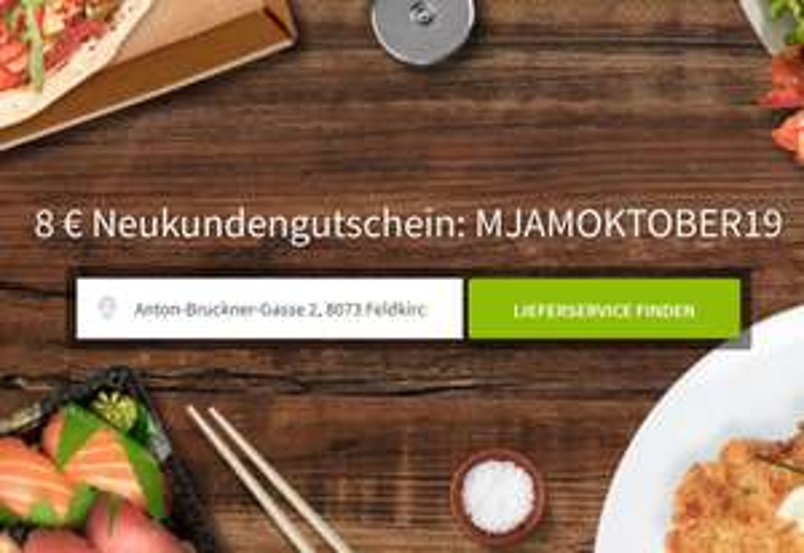 8 € MJAM Gutschein für Neukunden (Mindestbestellwert 12 €)