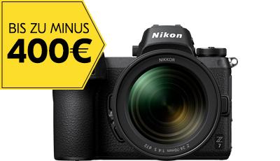 Nikon Sofort Rabatt bis zu 400,- Euro