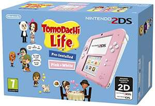 Nintendo 2DS Tomodachi Life Bundle weiß/rosa