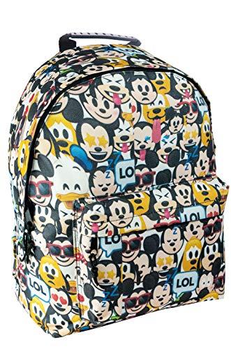 Diakakis Rucksack Disney Emojis, Multicolor, 30 x 40 x 15 cm
