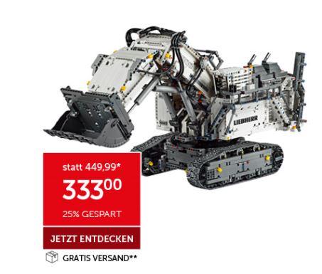 [Interspar Online] LEGO Technic Liebher Bagger R9800