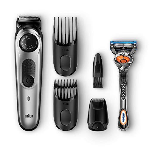 Braun BT5060 Haar-/Bartschneider - Inklusive Gillette Fusion5 ProGlide