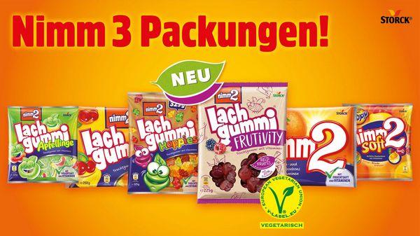 9 Packungen Lachgummi für 5€ bei Billa mit MarktGuru Cashback