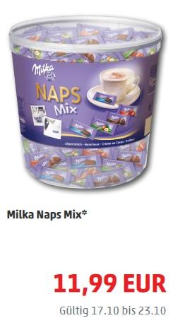 PENNY: 1 kg Milka Naps oder Leckeris für die Kolleginnen