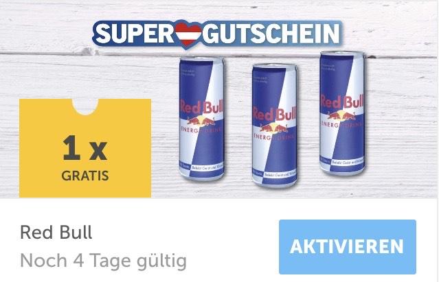 1 x Dose Red Bull gratis (Lidl-Plus-App)