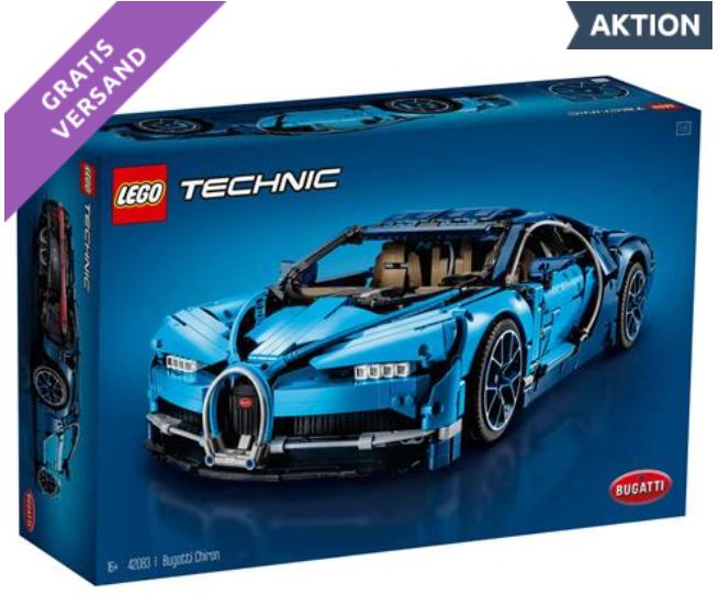 LEGO Bugatti Chiron - 0815.at