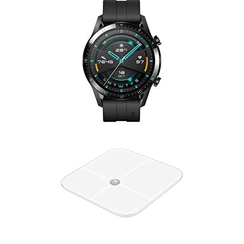 Smartwatch Huawei GT 2 + smarte Körperwaage AH100 bei Amazon + Amazon Gutschein