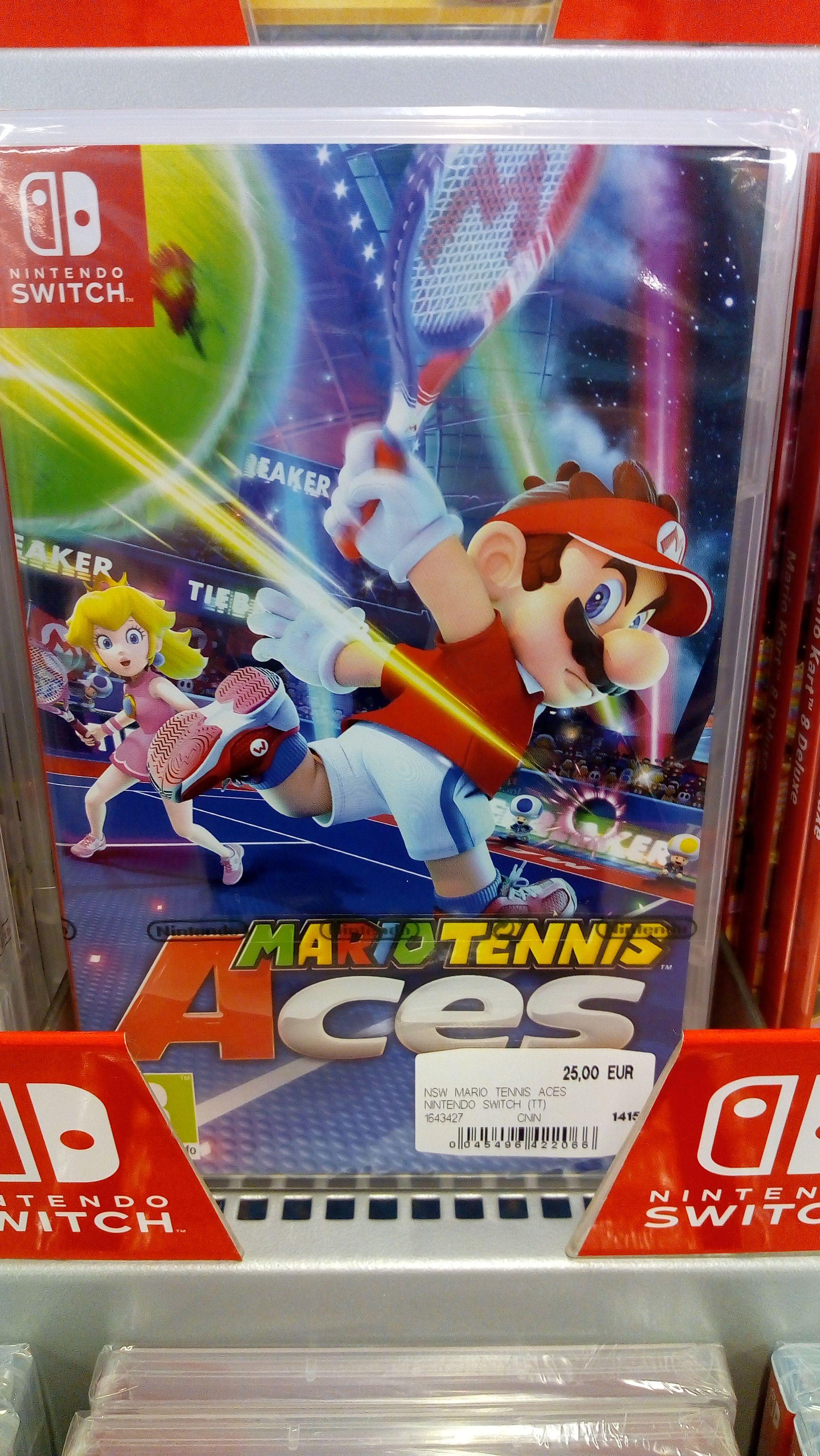 [SaturnHaid] Mario Tennis Aces, Pokemon lets go Evoli oder Pikachu für Switch um je 25 Euro