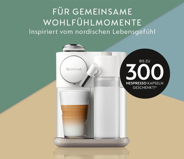 Nespresso 300 Kapseln gratis