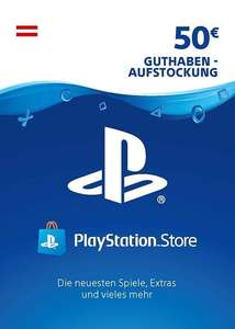 50€ Playstation Network Guthaben