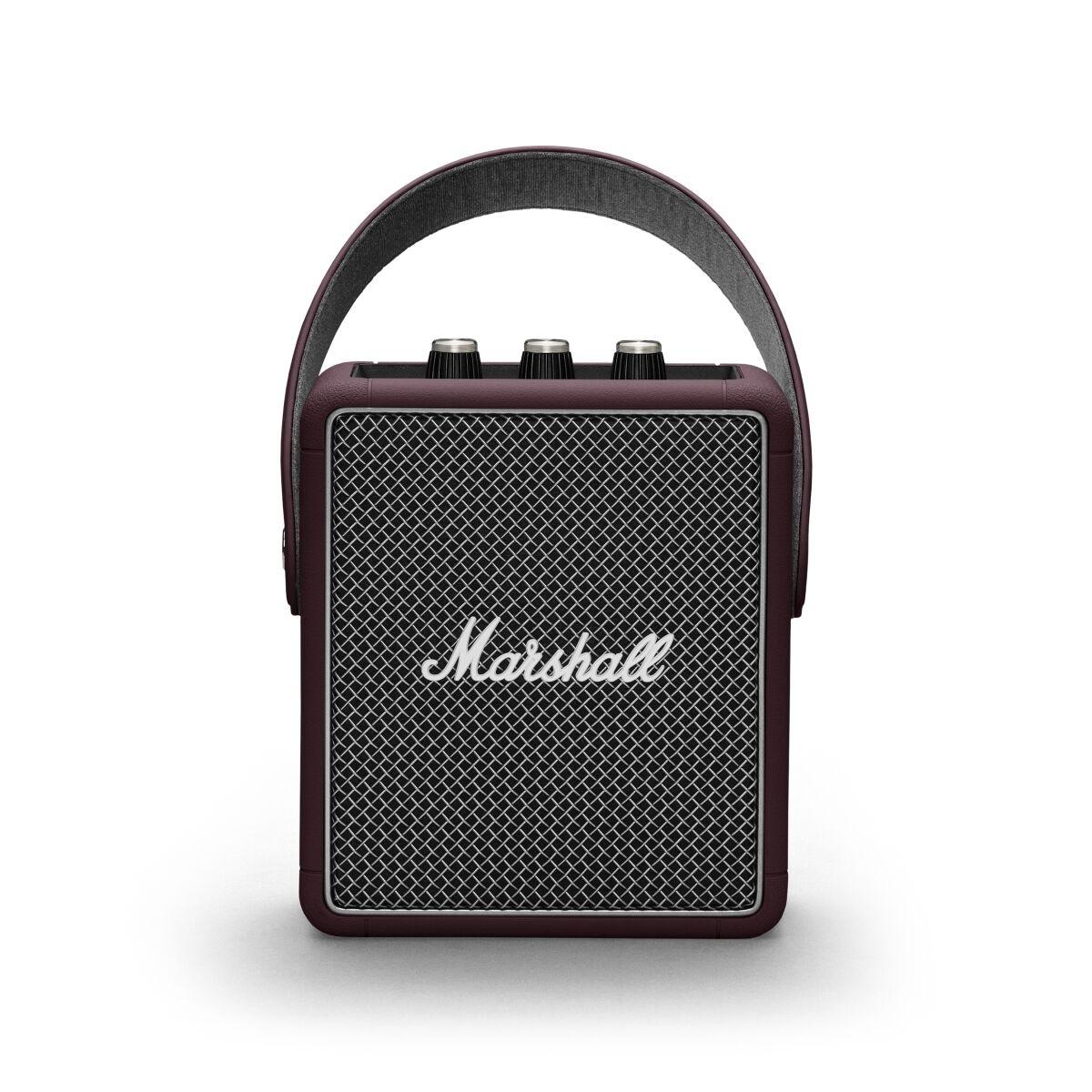 Marshall Stockwell II (Burgundy) Bluetooth Lautsprecher
