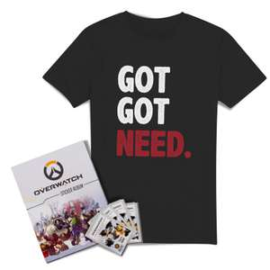 [Zavvi.de] Overwatch Sticker Album und 50(!) Tüten Sticker samt Shirt
