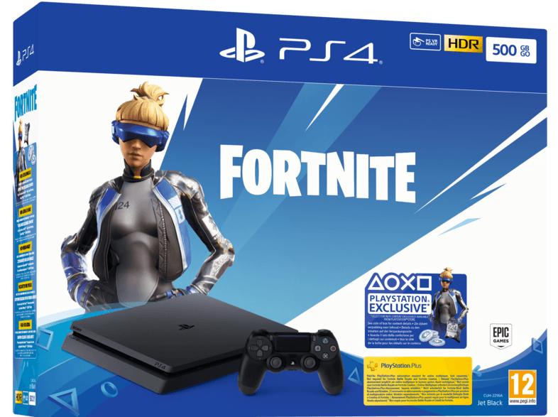 SONY PlayStation 4 Slim Konsole 500 GB Fortnite Neo Versa Bundle