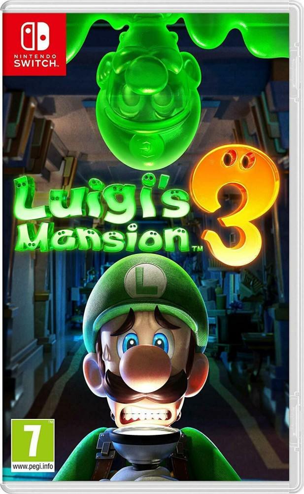 Luigi's Mansion 3 (Switch) f. 41,5€ bei Rakuten.de bei Zahlung mit Mastercard