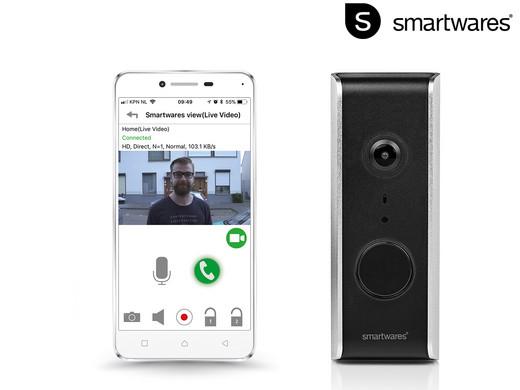 Smartwares WLAN-Video-Türklingel | DIC-23112