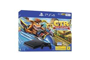 PlayStation 4 Konsole - Crash Team Racing Nitro-Fueled Bundle (Slim, 500GB, Jet Black)