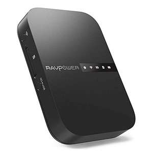 RAVPower Travel Router FileHub AC750 6700mAh (RP-WD009)