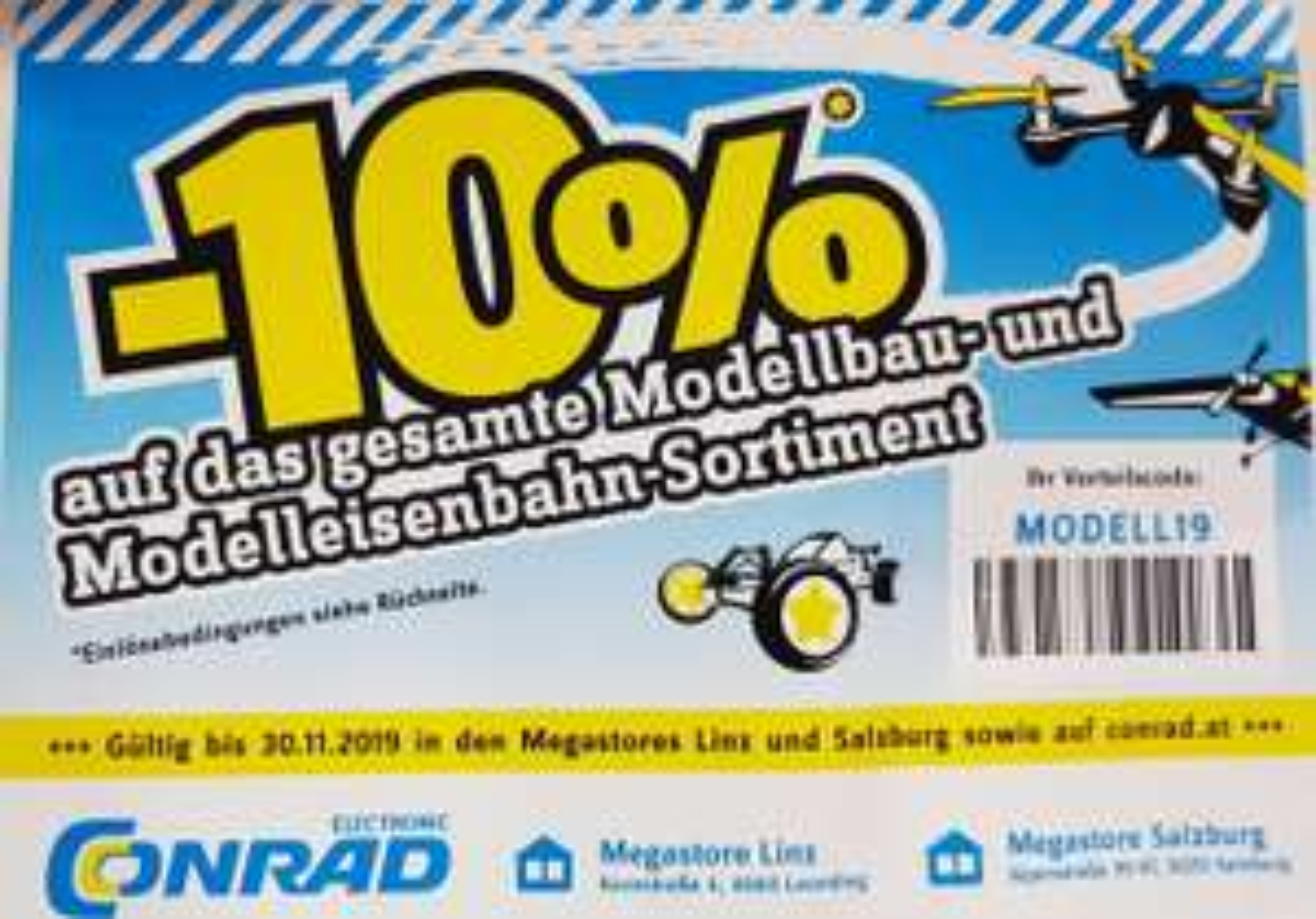 -10% bei Conrad auf Modellbau-Sortiment
