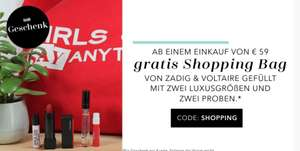 Gratis Shopping Bag ab 59€