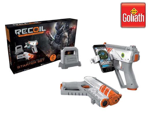 2x Goliath Recoil Starter Set   AR-Laserspiel